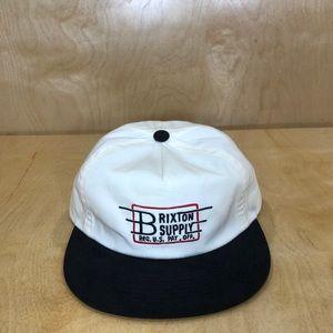 "NWT Brixton Supply ""Reg. US. PAT. Off."" Bishop Cap"